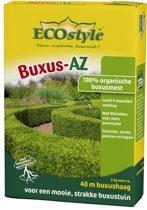 ECOstyle Buxus-AZ - 1 kg - buxus meststof voor ca. 10 meter haag