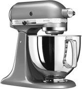 KitchenAid Artisan 5KSM125ECU - Keukenmachine - Contour Zilver