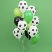 Ballonnenset Voetbal 13 stuks | Voetbalwedstrijd ballonnen| WK decoratie| EK decoratie| Themafeest voetbal | Party ballonnen | Kinderverjaardag | Kinderfeestje