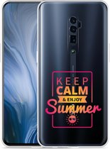 Oppo Reno 10X Zoom Hoesje Summer Time