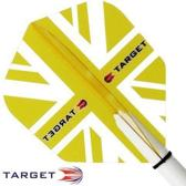 Target Pro 100 flights Union Jack Geel