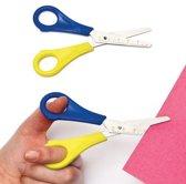 Schaar met liniaal en afgeronde bladen voor linkshandige kinderen (8 stuks)