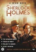 Dvd Sherlock Holmes - 4 Disc Nl