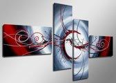 Eyes - Canvas Schilderij Vierluik 160 x 70 cm