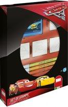 Disney Stempelset Cars 3 12-delig