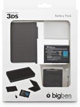 Bigben Oplaadbare Batterij Zwart 3DS