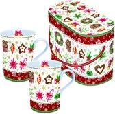 mug set Christmas Parts