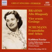 Ferrier: Brahms.Schumann