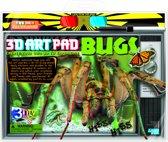 4M Crea 3D Art Pad - Insecten