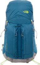 The North Face Banchee 50 Women Backpack 50L Blue Coral Budding Green