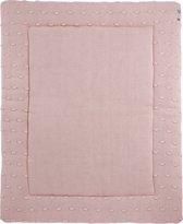 Meyco boxkleed Knots roze