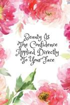 Beauty Is Confidence Applied Directly to Your Face