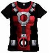 Deadpool - Costume T-shirt - Black
