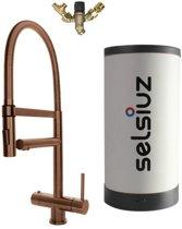 Selsiuz XL Copper met Combi Extra of Combi+ boiler