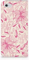 Smart Cover iPhone 6/6s Pink Flowers