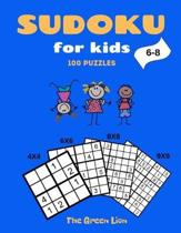 Sudoku for Kids 6-8: 100 Puzzles: 4X4, 6X6, 8X8, and 9X9