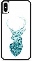 iPhone Xs Max Hardcase hoesje Art Deco Deer