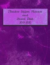 Teacher Lesson Planner and Record Book 2019-2020