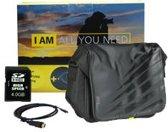 Nikon DSLR accessoirekit met Nikon cameratas, HDMi kabel en 4.0GB geheugenkaart