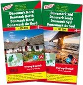 F&B Denemarken Noord en Zuid, 2-kaartenset