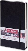 Talens Art Creation schetsboek zwart 13x21 140grams