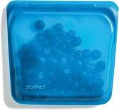 Stasher Herbruikbare Siliconen Zak Medium - Blueberry