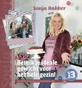 Boek cover Bereik je ideale gewicht voor het hele gezin! 3 van Sonja Bakker (Paperback)
