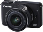 Canon EOS M10 + 15-45mm IS STM - Zwart