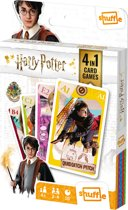 Harry Potter - 4in1 - Speelkaarten (Kwartet, memo, snap, actie spel)