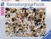 Ravensburger puzzel Hondencollage 1000 stukjes