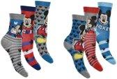 6 paar sokken Mickey Mouse maat 23-26