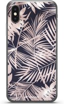 Mobigear Design TPU Hoesje Style Palm Leaves iPhone X / Xs