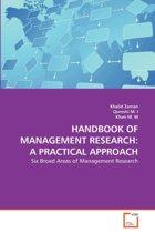 Handbook of Management Research