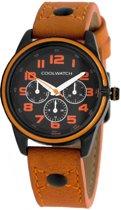 Coolwatch Jack Kids CW.250 - Horloge - Leer - 32 mm - Bruin