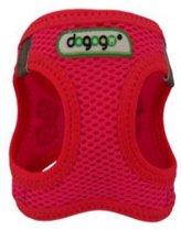 Dogogo Air Mesh tuig, roze, maat XXS
