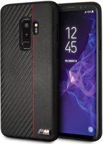 BMW Zwart / Rood M Line Carbon Hard Case Samsung Galaxy S9 Plus