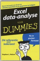 Excel data-analyse voor Dummies, pocketeditie
