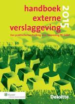 Handboek externe verslaggeving, 2015