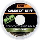Fox Camotex Stiff | Onderlijnmateriaal | Light Camo | 20lb