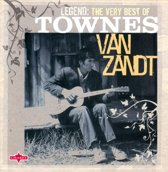 CD cover van Legend van Townes Van Zandt