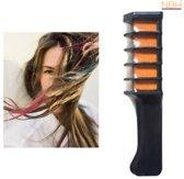 Oranje Haarkrijt, Mini wegwerp Haarkleur kam