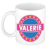Valerie naam koffie mok / beker 300 ml  - namen mokken