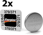 2 Stuks - Energizer 370/371 SR69 1.55V knoopcel batterij
