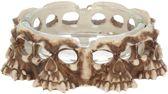 Fangs skull asbak