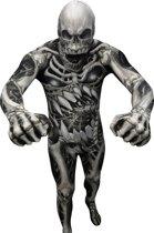 Skelet Morphsuits™ kostuum voor volwassenen - Verkleedkleding - 152/160