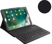 Shop4 - iPad Air (2019) Toetsenbord Hoes - Bluetooth Keyboard Cover Lychee Zwart