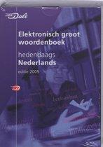 Van Dale Elekronisch groot woordenboek hedendaags Nederlands 2009