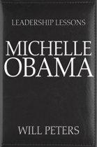 Boekomslag van 'Leadership Lessons: Michelle Obama'