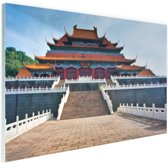 Verboden stad Peking Glas 60x40 cm - Foto print op Glas (Plexiglas wanddecoratie)