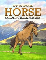 Horse Coloring Book: Horse Coloring Pages for Kids